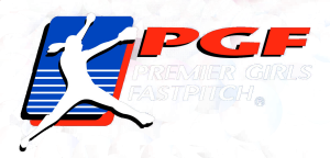 Premier Girls Fastpitch (PGF) Logo